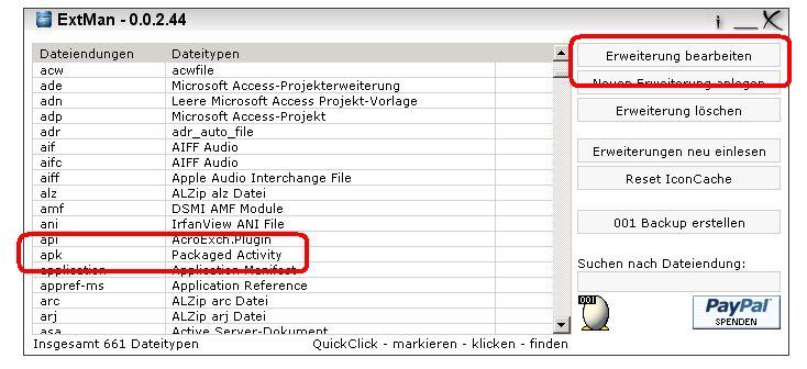 Fehlermeldung Failed To Open Package Unter Windows Vista Und